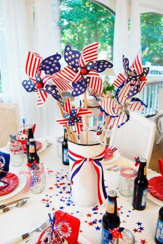 Patriotic Centerpiece and Table Decoration Ideas picture 2
