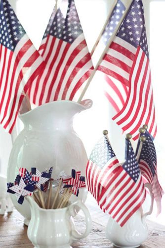 Patriotic Centerpiece and Table Decoration Ideas picture 1