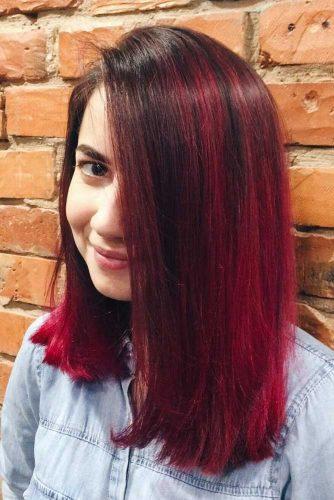 Sleek Ruby Lob