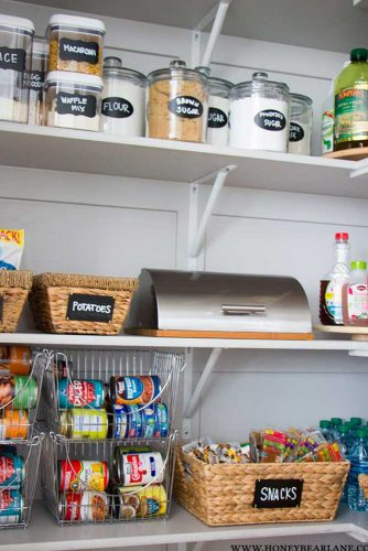 Best Ideas to Organize Your Pantry Shelves picture 3
