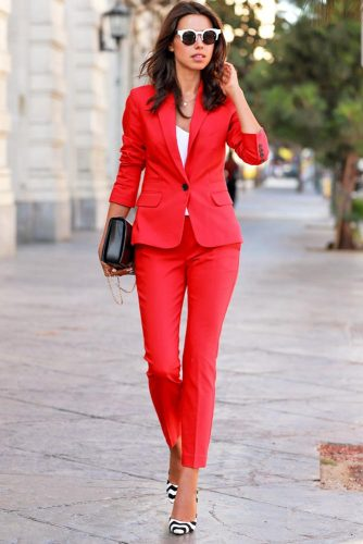 Cute Female Suits For Work picture 1