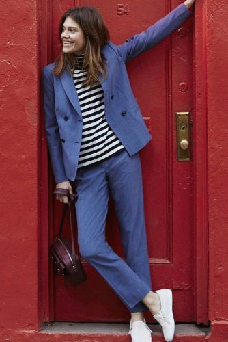 Comfy Power Suits Ideas to Create Your Work Outfit picture 2