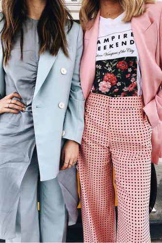 Elegant And Casual Power Suit Outfits picture 5