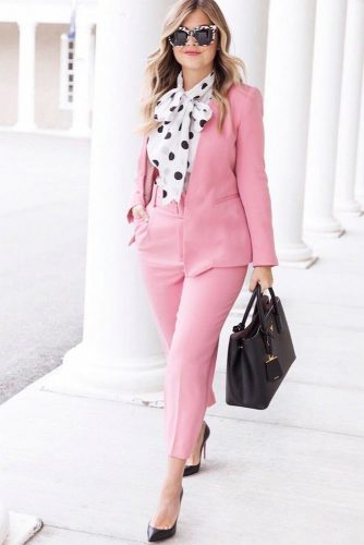 Elegant And Casual Power Suit Outfits picture 3