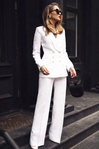 Elegant And Casual Power Suit Outfits picture 2
