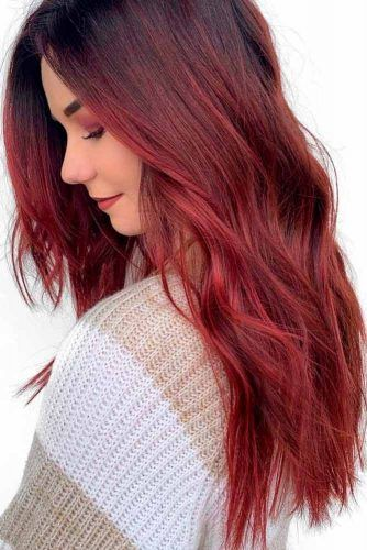 Chocolate Red #cherryhair