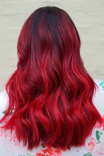 Seductive Pomegranate #ombrehair