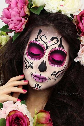 Colorful Sugar Skull Halloween Looks picture 1