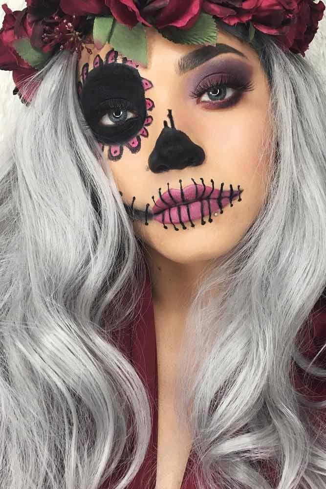 Creative Haloween Makeup Ideas picture 1