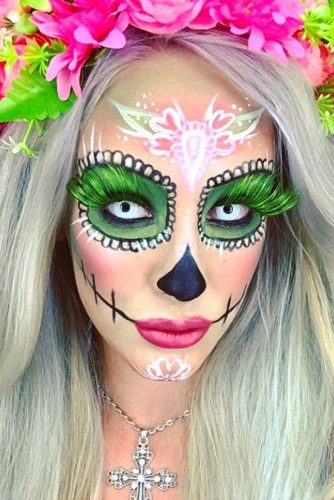 Popular Sugar Skull Makeup Ideas picture 6