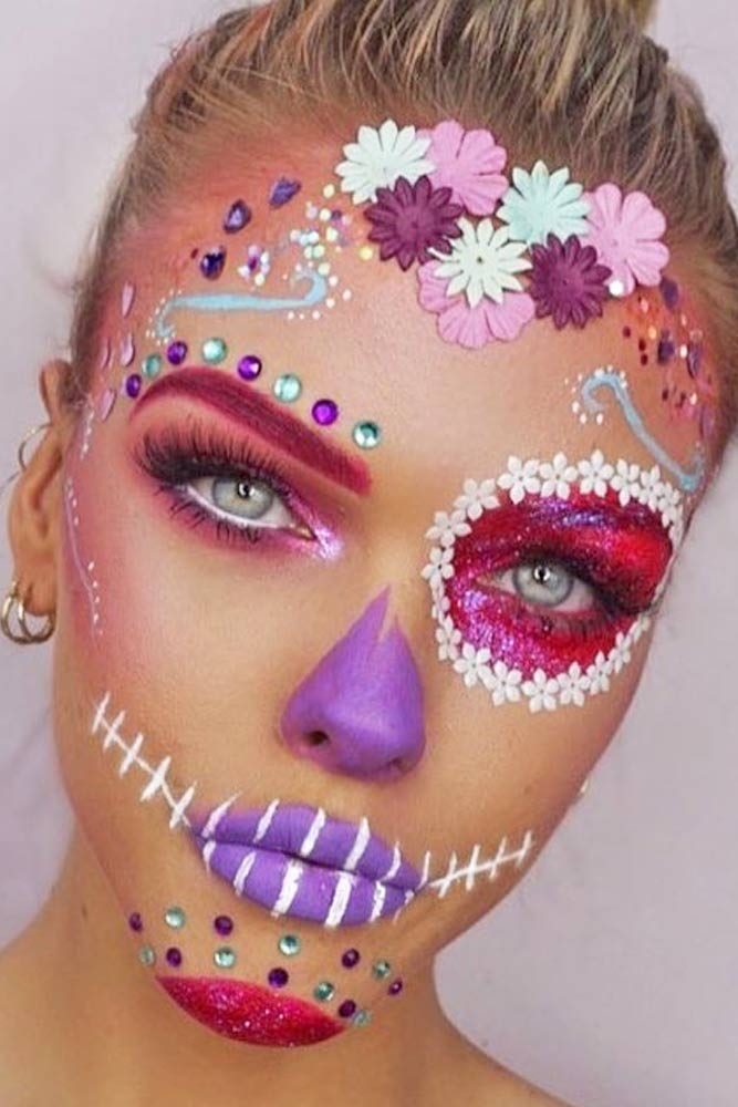 Popular Sugar Skull Makeup Ideas picture 5