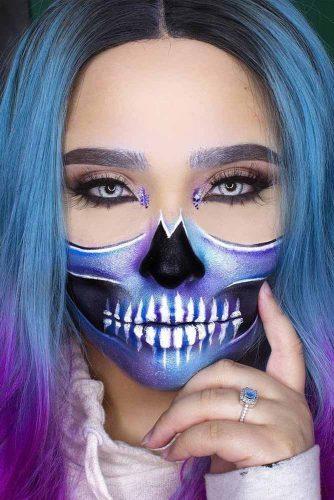 New Pretty Sugar Skull Makeup Ideas picture 5