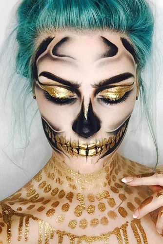 Colorful Sugar Skull Halloween Looks picture 4