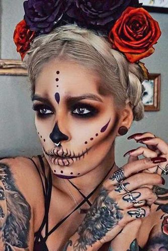 Creative Haloween Makeup Ideas picture 3