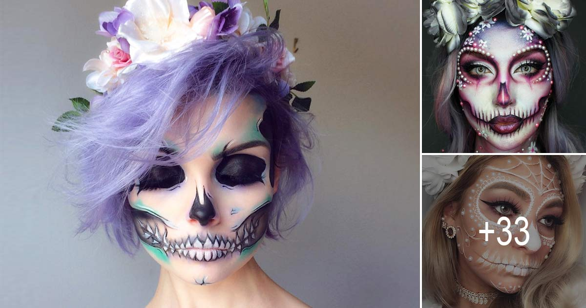 Day Of The Dead Halloween Makeup