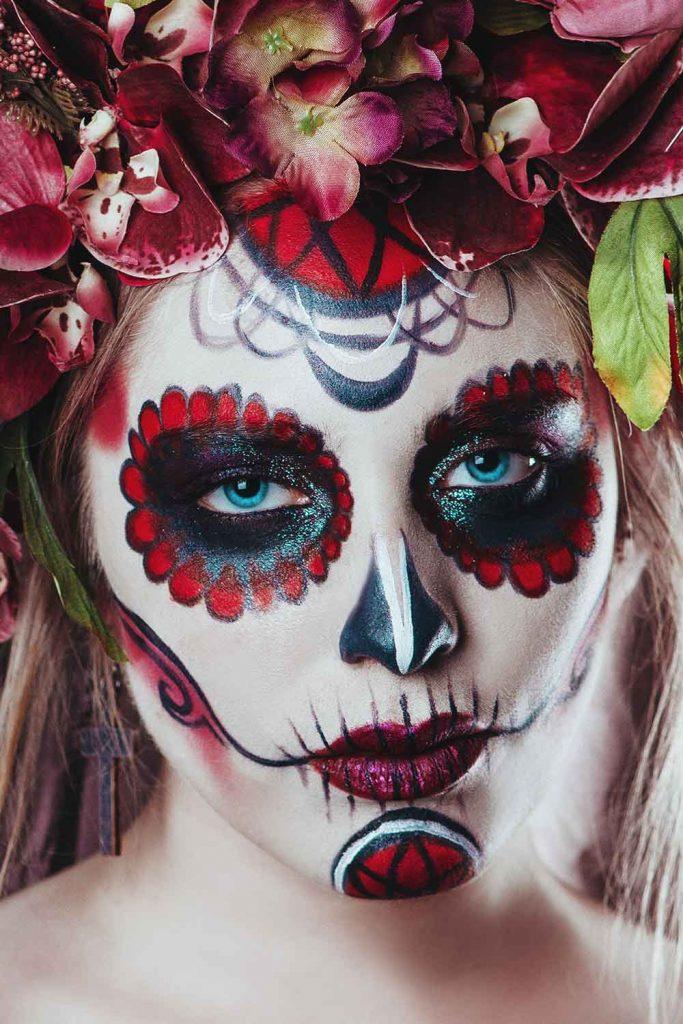 Art Skull Makeup Design