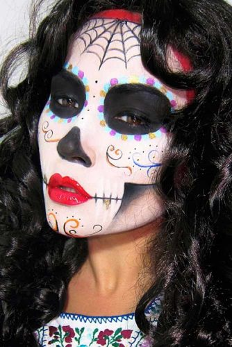 Popular Sugar Skull Makeup Ideas picture 4