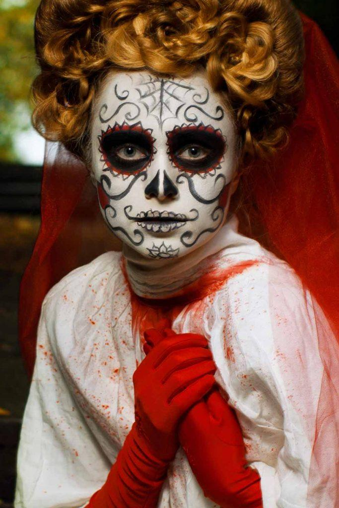 Halloween Skill Makeup Idea