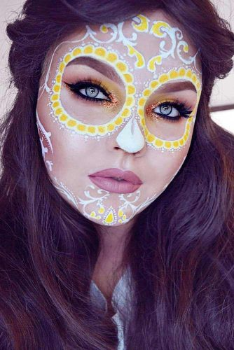 Colorful Sugar Skull Halloween Looks picture 5