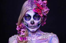 Best Sugar Skull Makeup Creations to Win Halloween