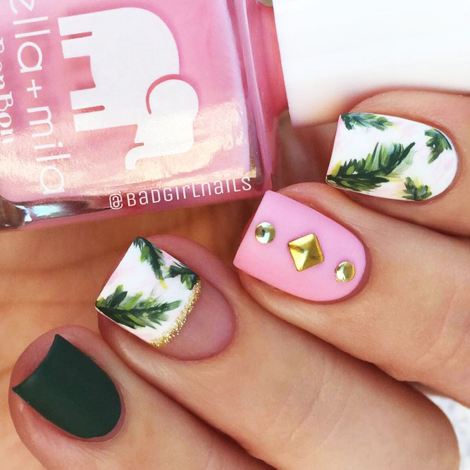New Fresh Tropical Nail Designs picture 1