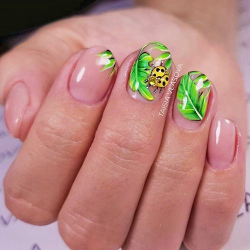 New Fresh Tropical Nail Designs picture 3