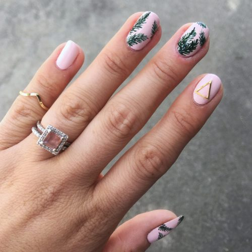 Summer Nail Designs with Palm Leaves picture 4