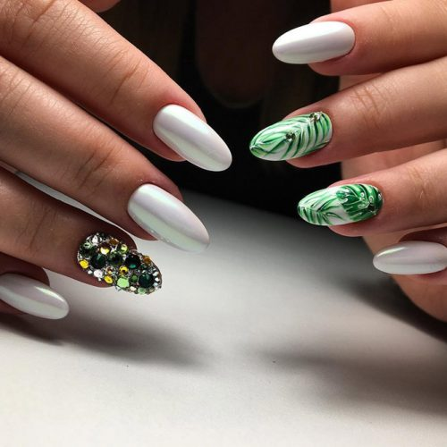 New Fresh Tropical Nail Designs picture 5