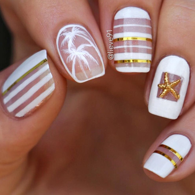 New Fresh Tropical Nail Designs picture 6