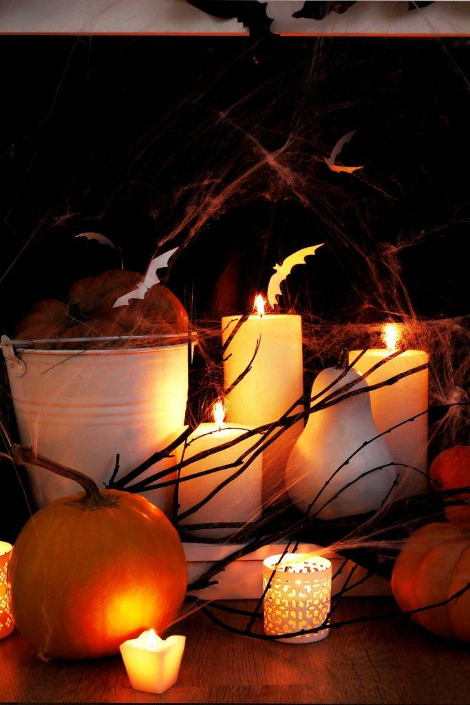 Spooky Halloween Decor Idea