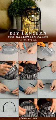 DIY Lantern For Halloween #diydecor #handmade