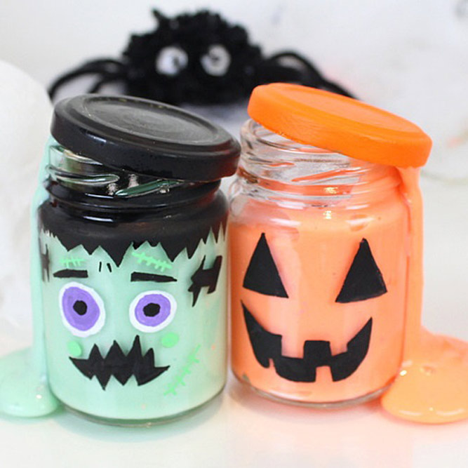 Monster Mason Jars Designs #monster #masonjar