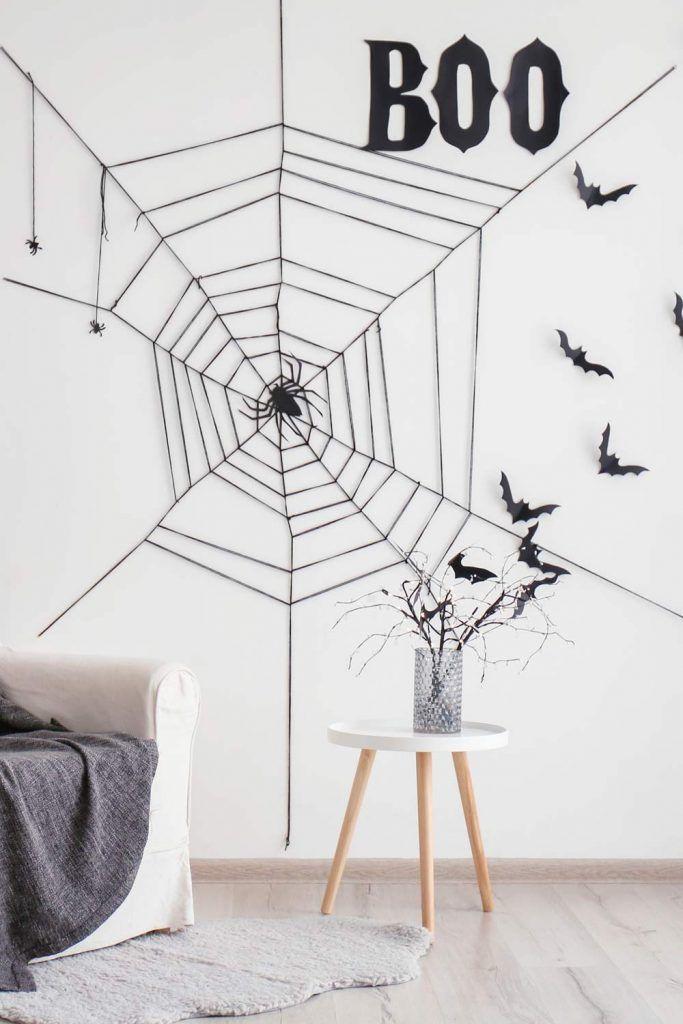 Easy Spiderweb Decoration