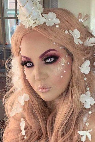 Cute Unicorn Makeup With Smokey Eyes #smokeyeyes