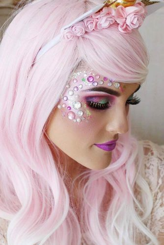 Incredible Unicorn Makeup picture 2