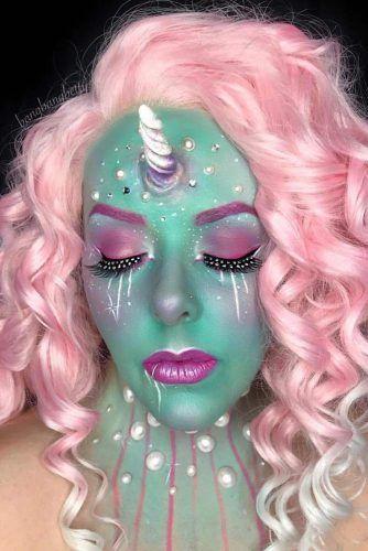 Fairy Mermaid Unicorn Makeup #mermaidunicorn