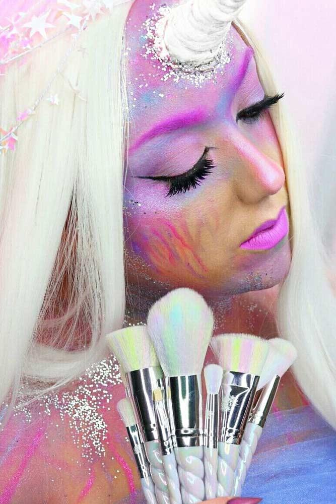 Unicorn Makeup for Festival Season picture4