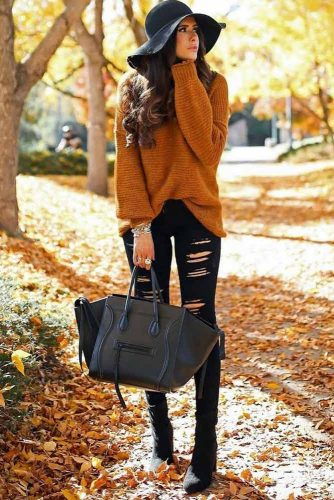 Perfect Color Combination for Fall Outfit
