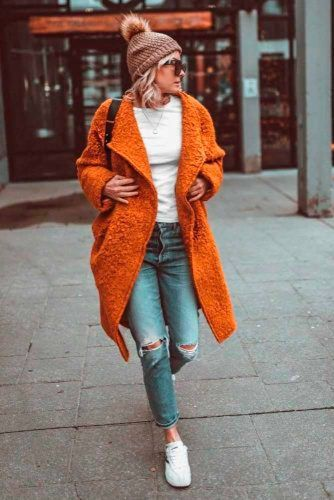 Orange Jacket To Accentuate Your Look #stylishlook #casualoutfits