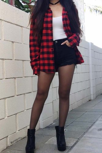 Casual Looks with Flannel Shirt picture 1