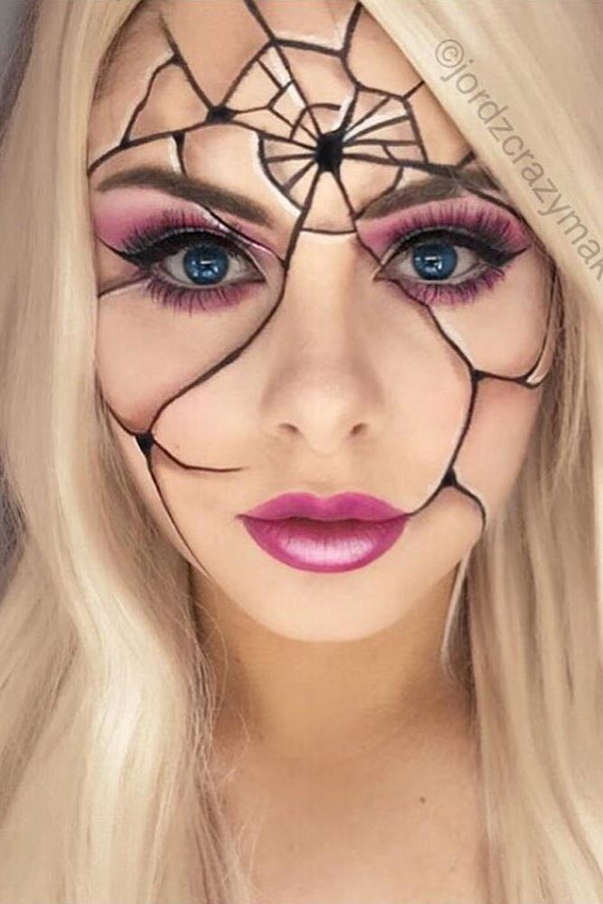 60 Killing Halloween Makeup Ideas To Collect All Compliments And Treats