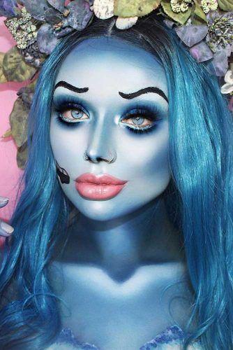 Corpse Bride Makeup #corpsebride