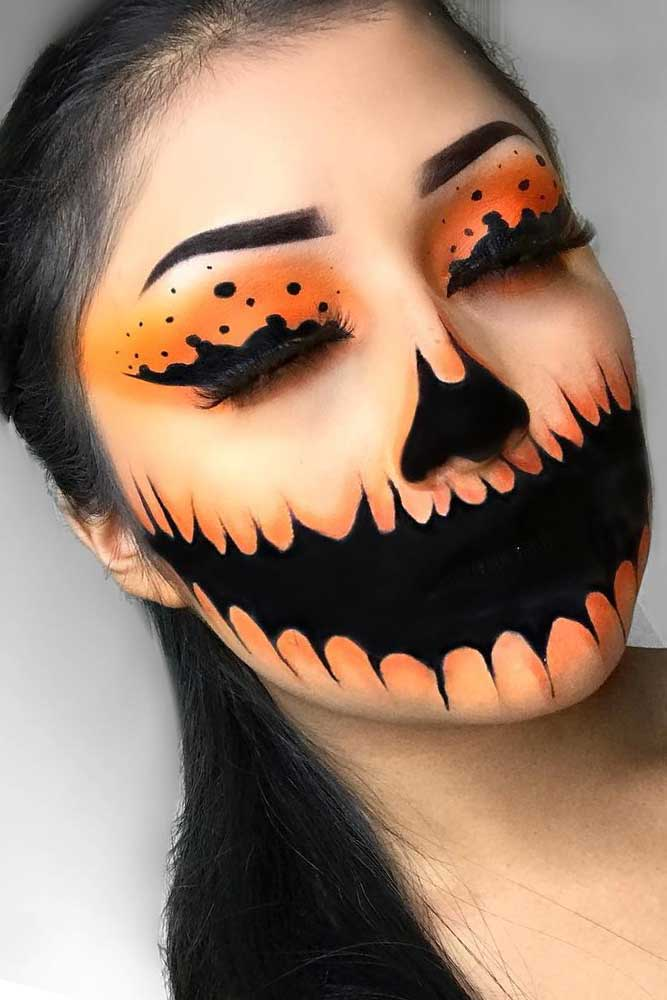 Popular Makeup Ideas for Halloween picture 1