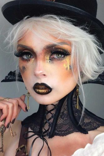 Pretty Halloween Makeup Looks picture 5