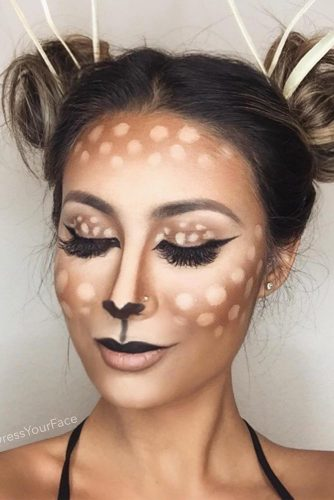Pretty Halloween Makeup Looks picture 1