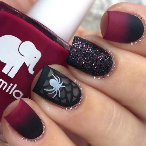 Perfect Spider Web Nail Art