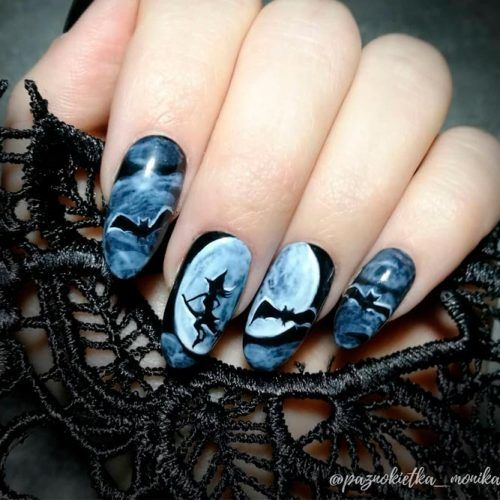 Witches Sabbath #scarynails
