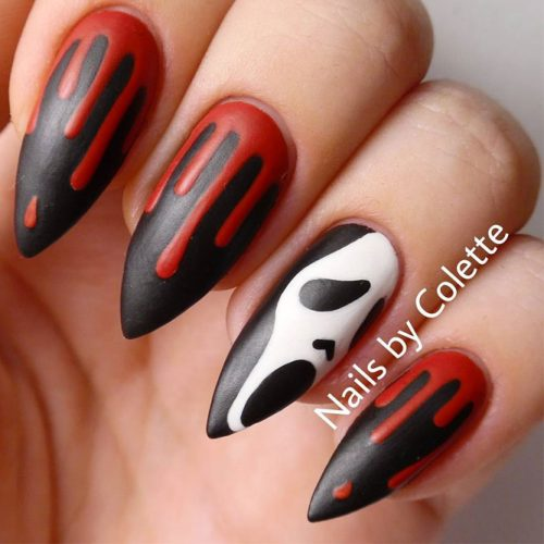 Scarily Easy Halloween Nails picture 2