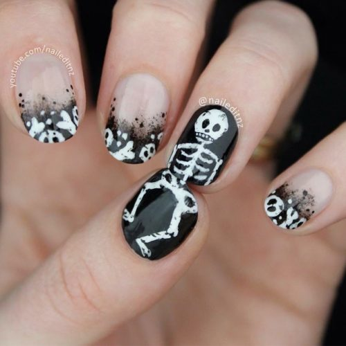 Scarily Easy Halloween Nails picture 5