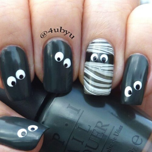 Cool Halloween Nail Art Designs picture 6